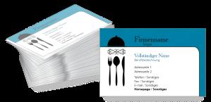 Visitenkarten Gastronomie Und Restaurants Visitenkarten