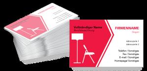 Visitenkarten Bau Und Innendesign Visitenkarten