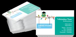 Visitenkarten Bildung Und Kinderbetreuung Visitenkarten